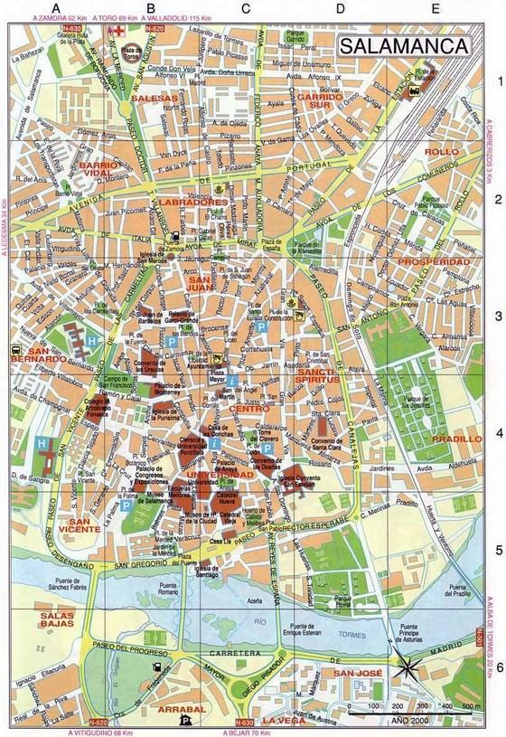 Salamanca map 4