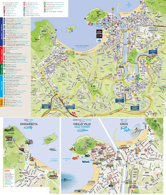 San Sebastian map 2