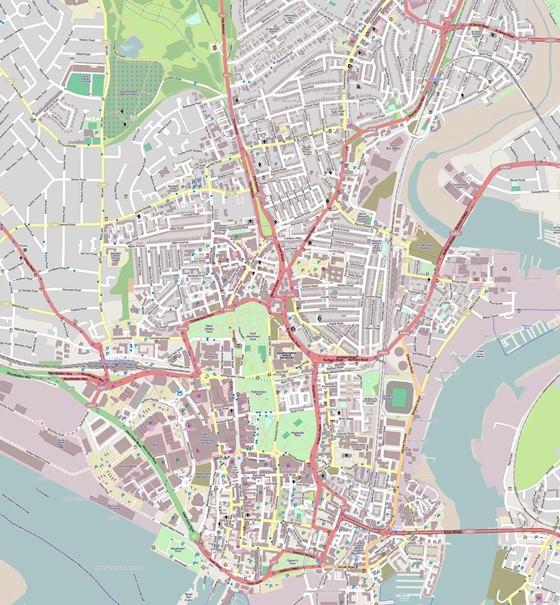 Southampton map 1