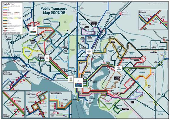 Southampton map 2