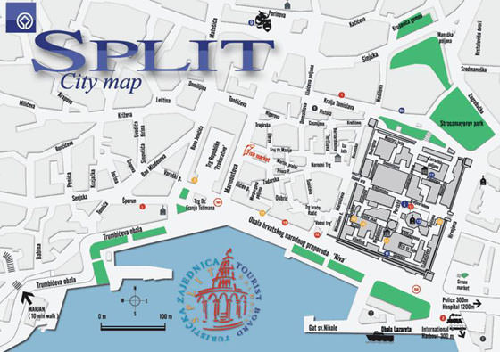 Large map of Split 1