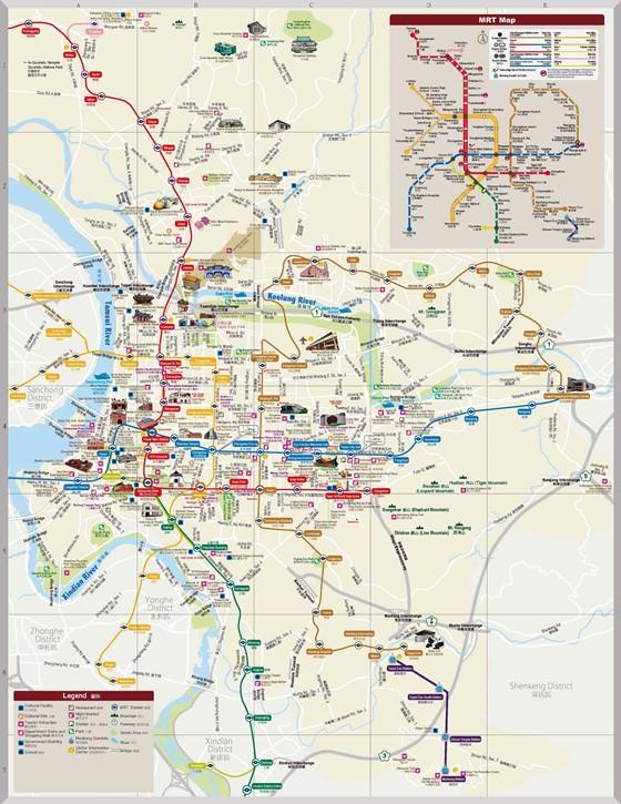 Карта Тайбэя 1