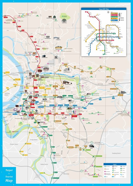 Карта Тайбэя 2