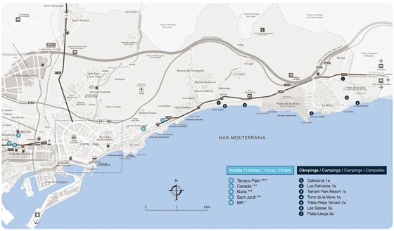 plan de Tarragone