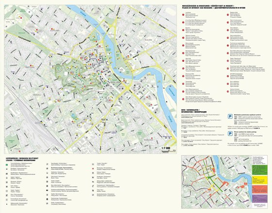 Detailed map of Tartu 4