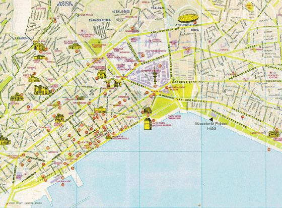 Interaktive Karte Von Thessaloniki Sehenswurdigkeiten Finden