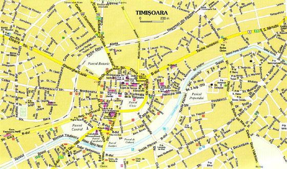 Timisoara map 1