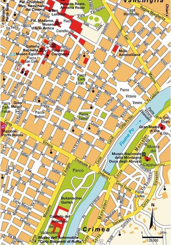 Turin map 3
