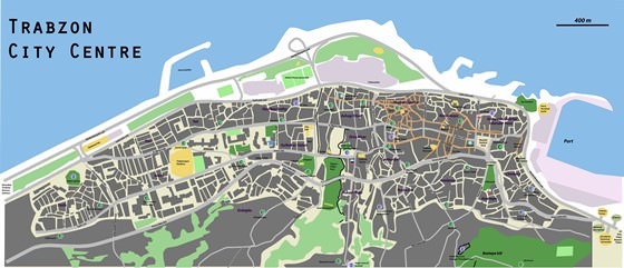 Large map of Trabzon 1