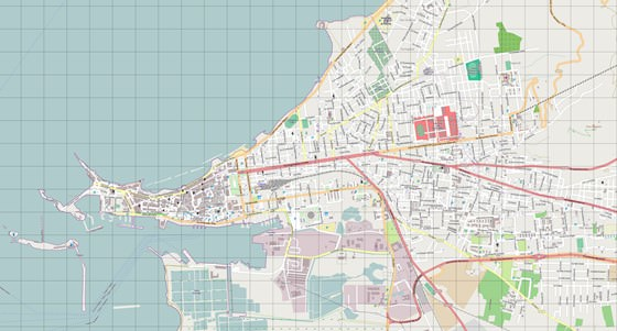 Gran mapa de Trapani 3