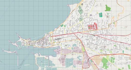 Детальная карта Трапани 3