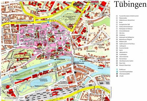 plan de Tubingen
