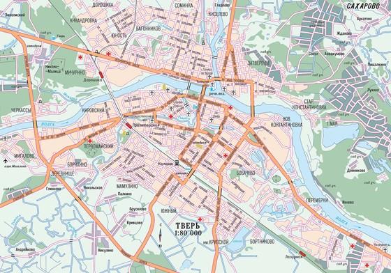 Tver map 1