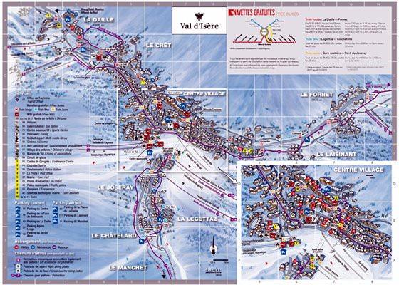 Gran mapa de Val-d-Isère 1