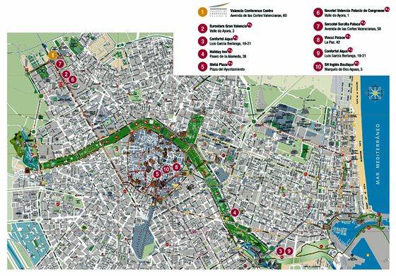 Valencia map 2