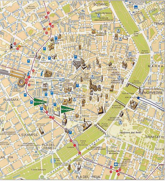 Valencia map 3
