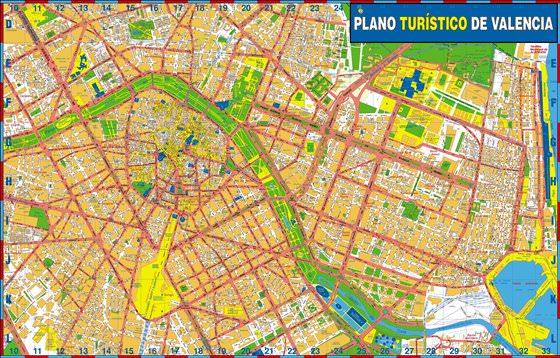 Valencia map 4
