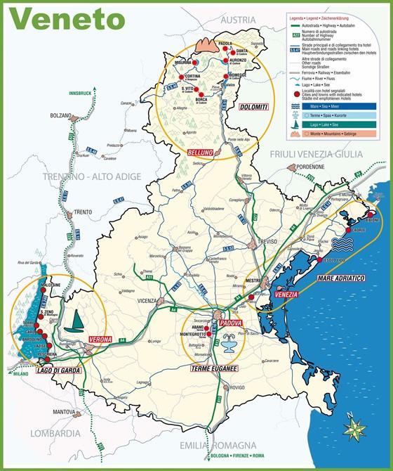 Veneto map 1