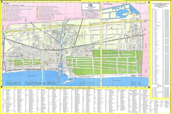 Gran mapa de Viareggio 1