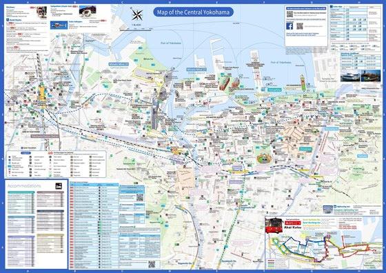Карта Йокогамы 1