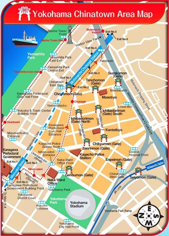 Карта Йокогамы 2