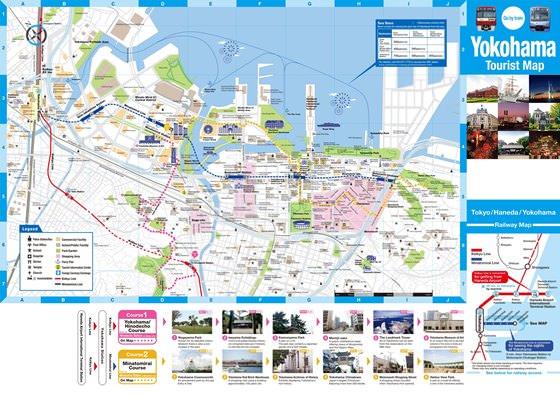 Карта Йокогамы 3