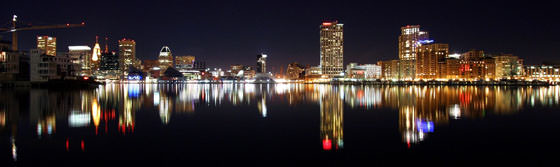 Foto panorámica de Baltimore