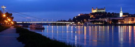 Foto panorámica de Bratislava