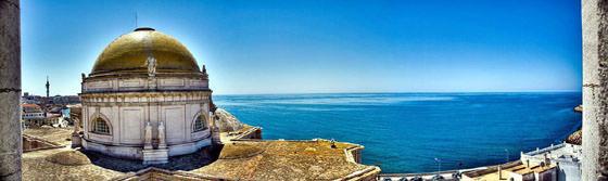 Foto panorámica de Cádiz