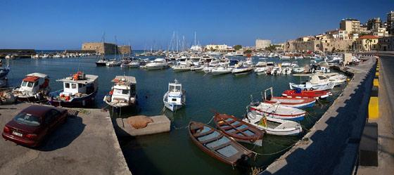 Foto panorámica de Creta