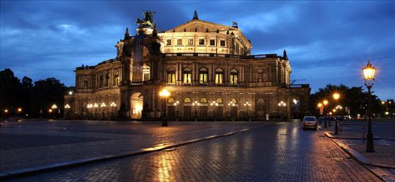 Foto panorámica de Dresde