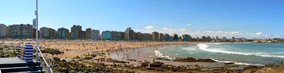 Foto panorámica de Gijón