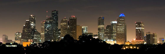 Foto panorámica de Houston