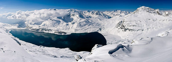 Foto panorámica de Ródano-Alpes