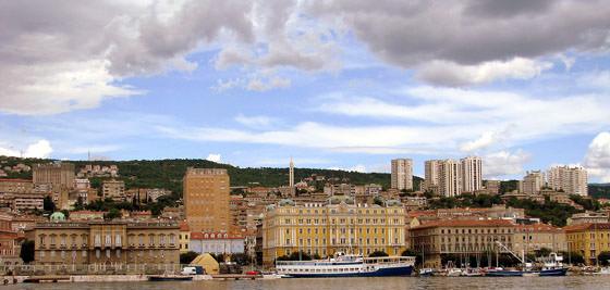 Foto panorámica de Rijeka