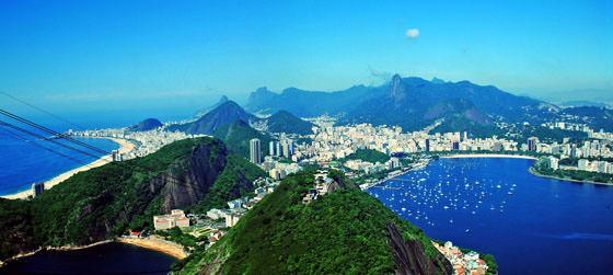 Foto panorámica de Río de Janeiro