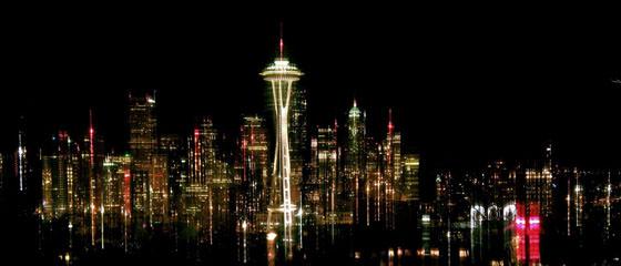 Foto panorámica de Seattle
