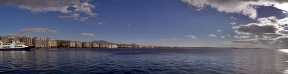 Foto panorámica de Salónica