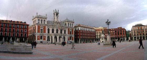 Foto panorámica de Valladolid