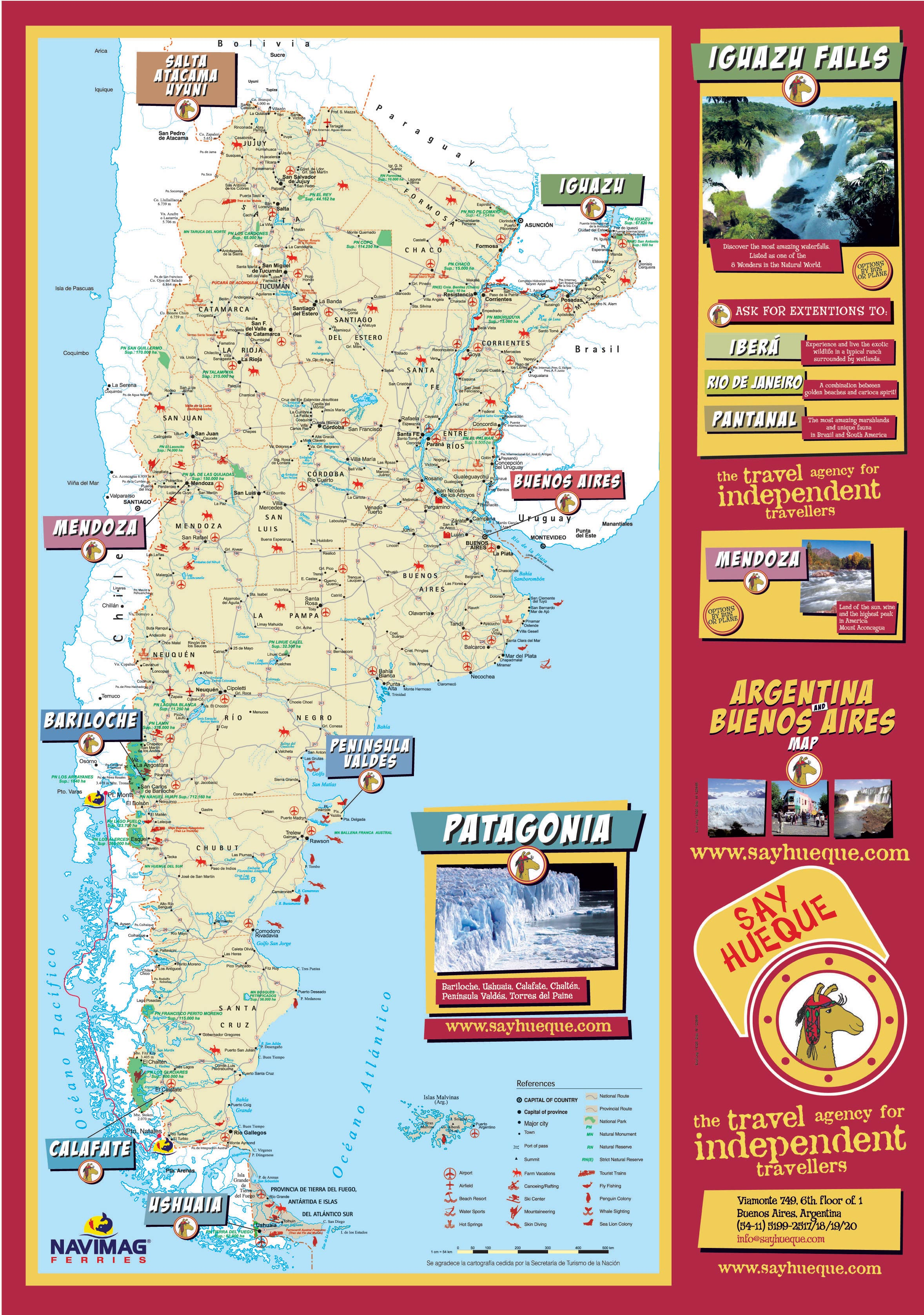 Argentina Maps Printable Maps Of Argentina For Download - Argentina map