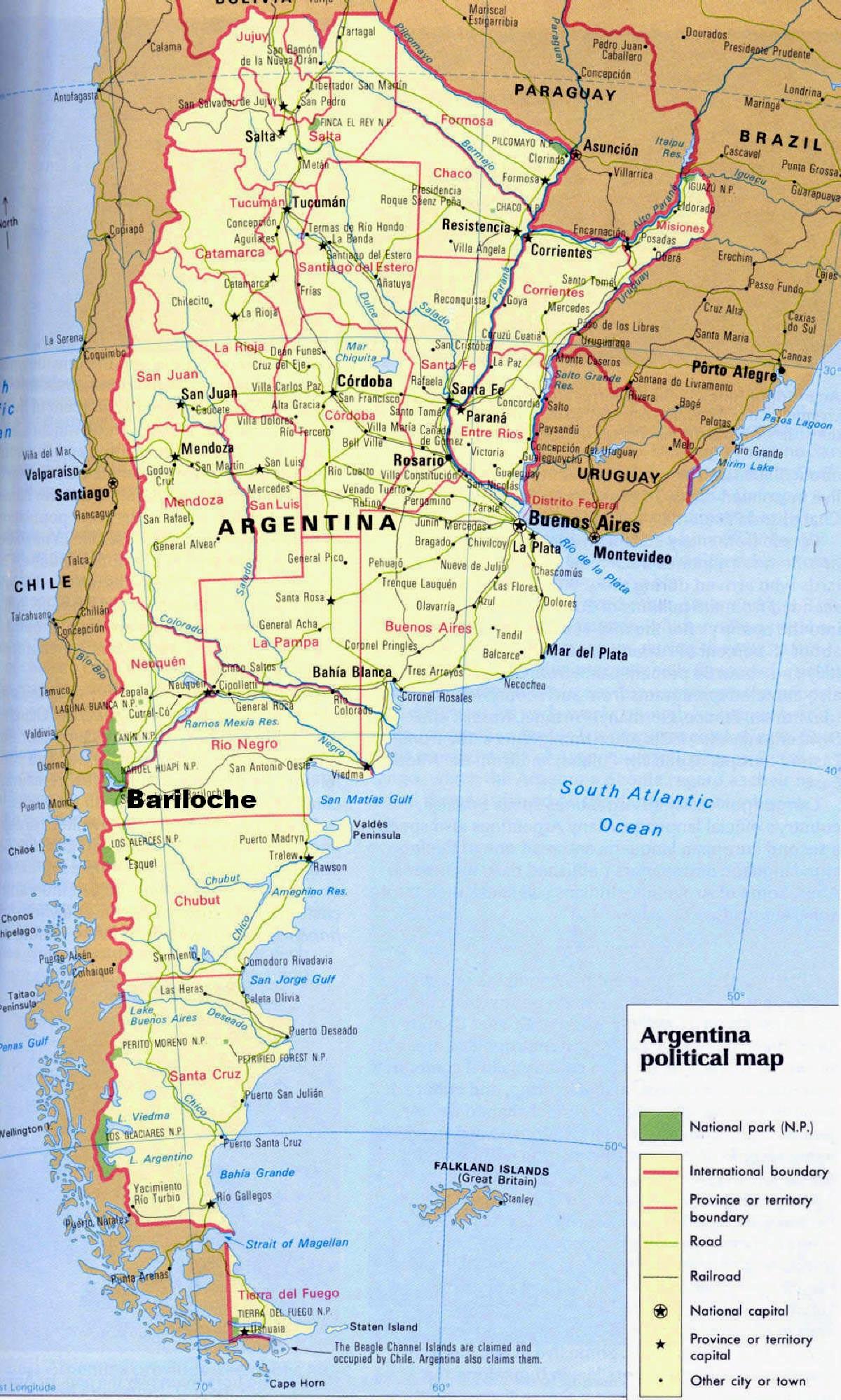 argentinien karte Karten von Argentinien | Karten von Argentinien zum Herunterladen  argentinien karte