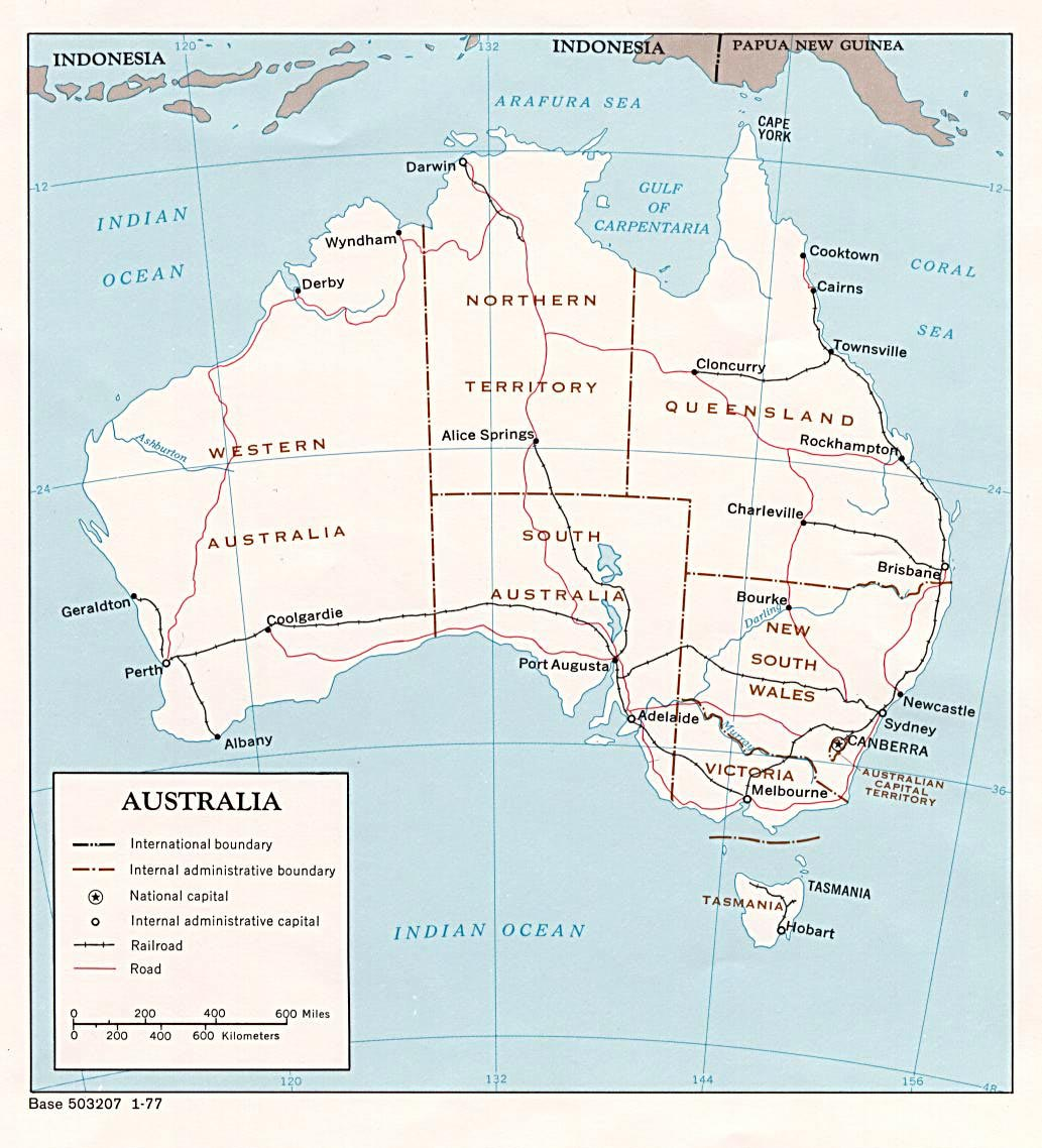 photo about Printable Map of Australia referred to as Australia Maps Printable Maps of Australia for Obtain