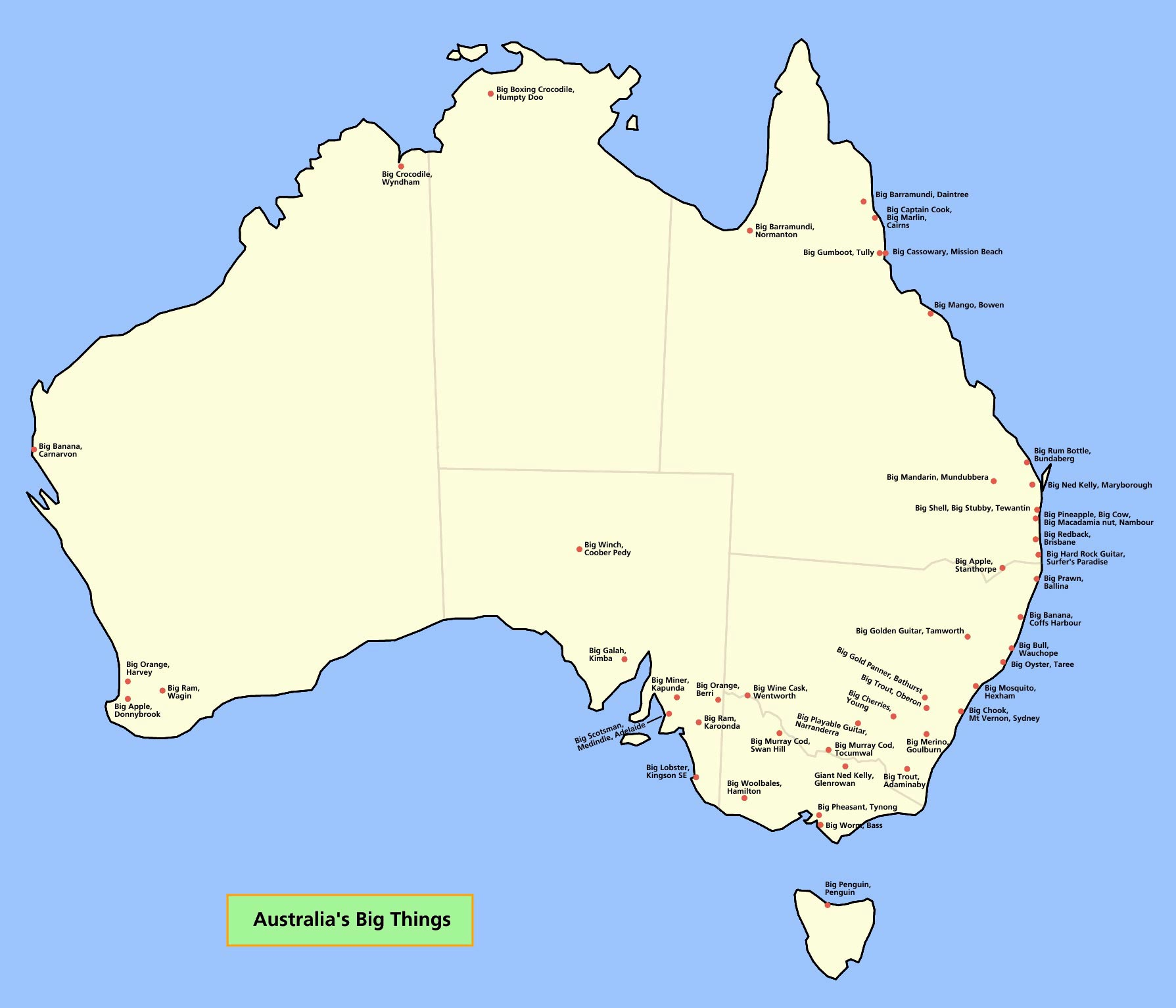 Australia Maps | Printable Maps of Australia for Download