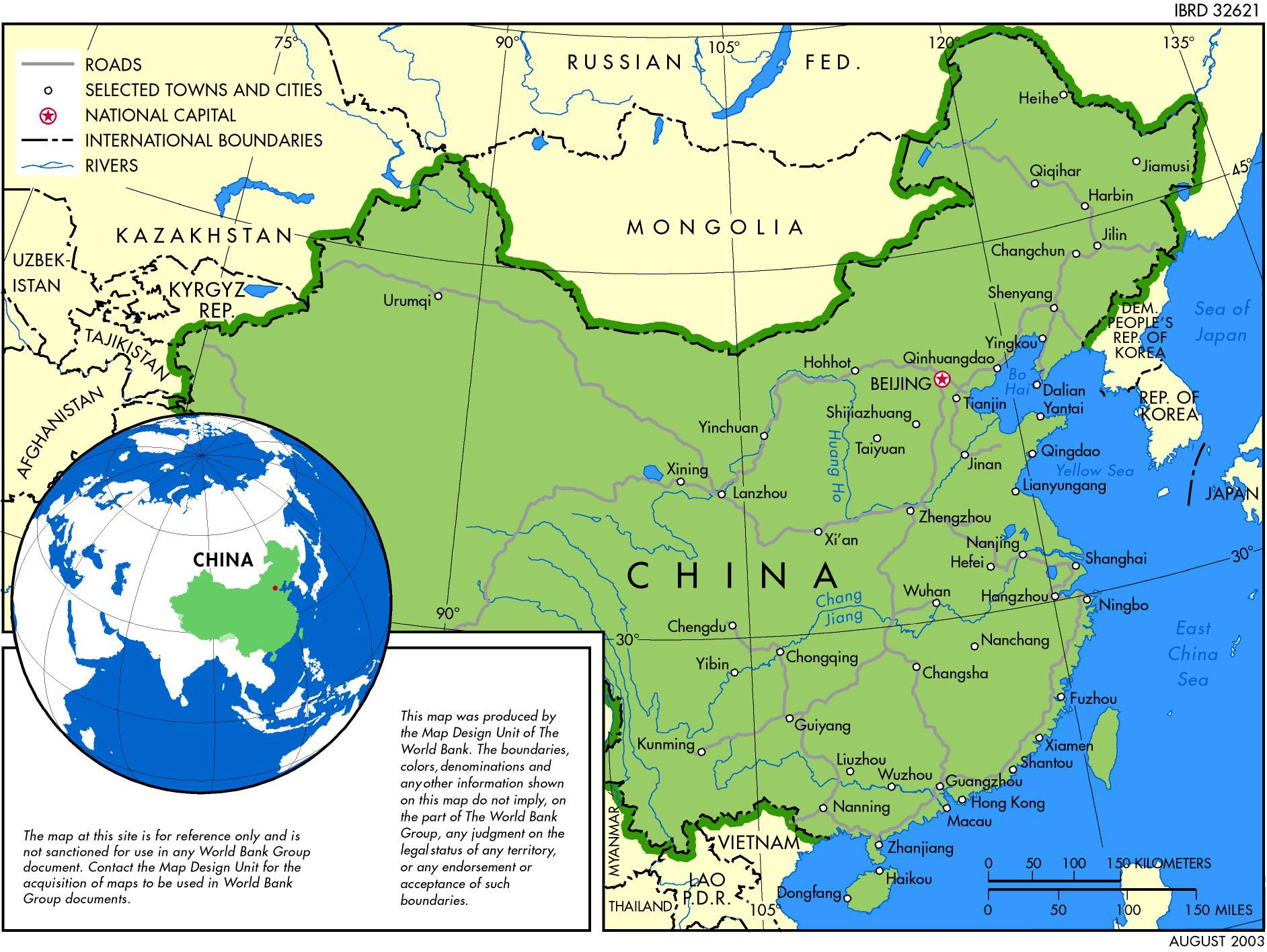 picture about Printable China Map named China Maps Printable Maps of China for Obtain