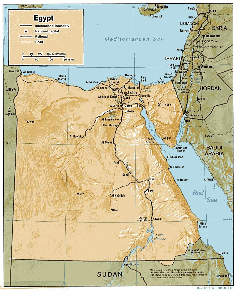 Egypt Maps Printable Maps Of Egypt For Download - Map of egypt picture
