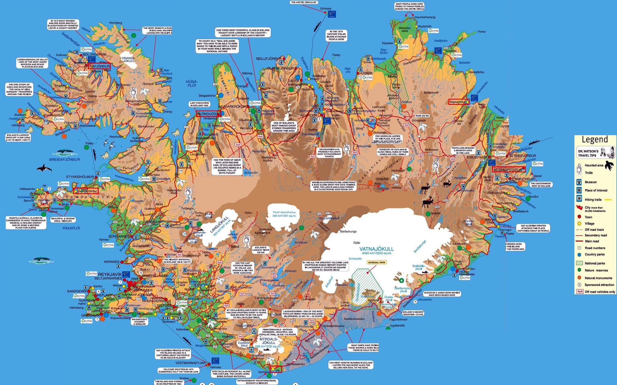 Map Of Iceland Iceland Maps | Printable Maps of Iceland for Download Map Of Iceland