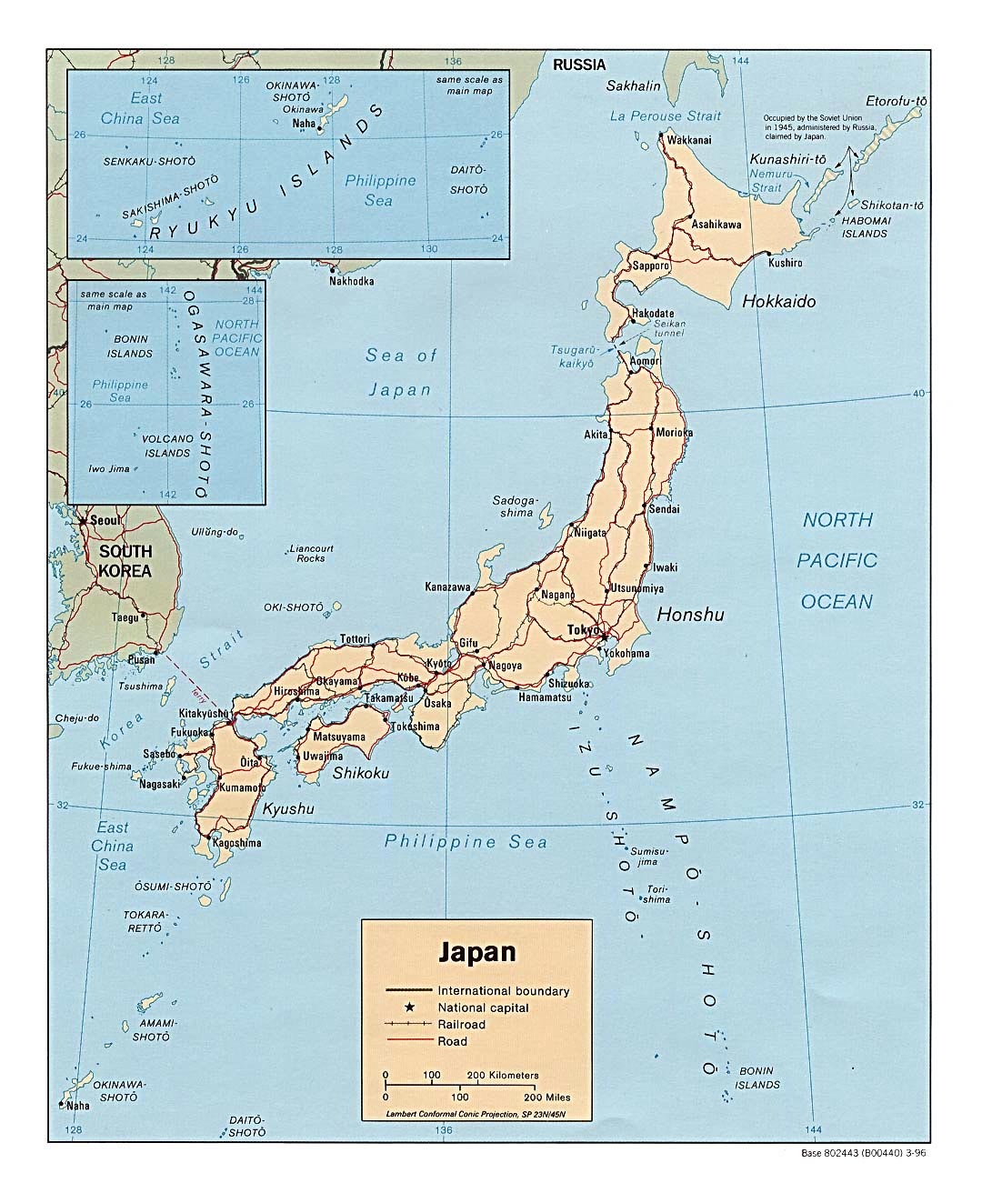 Japan Maps Printable Maps Of Japan For Download - Japan map english version