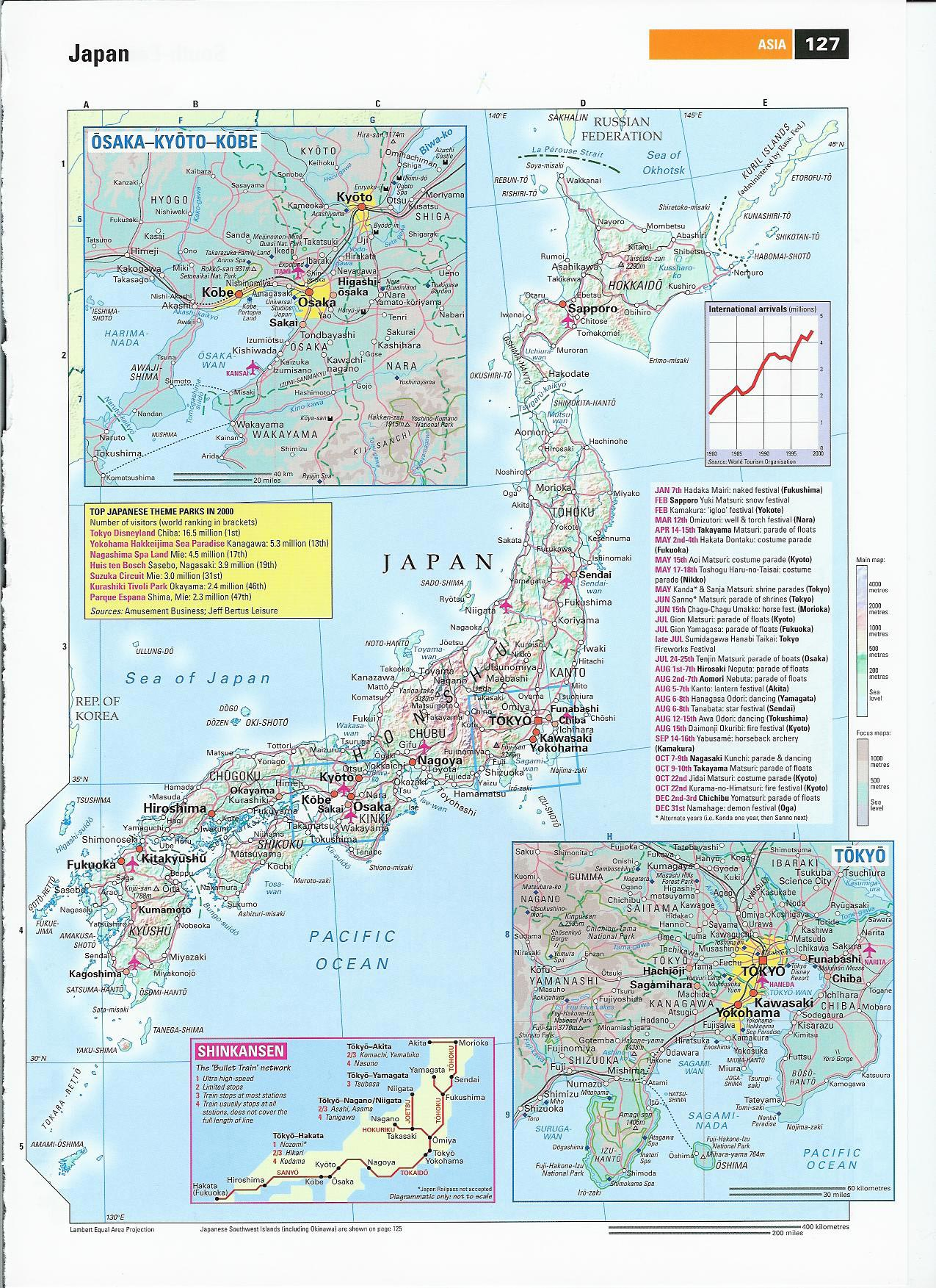 Japan Maps Printable Maps Of Japan For Download - Japan map labeled