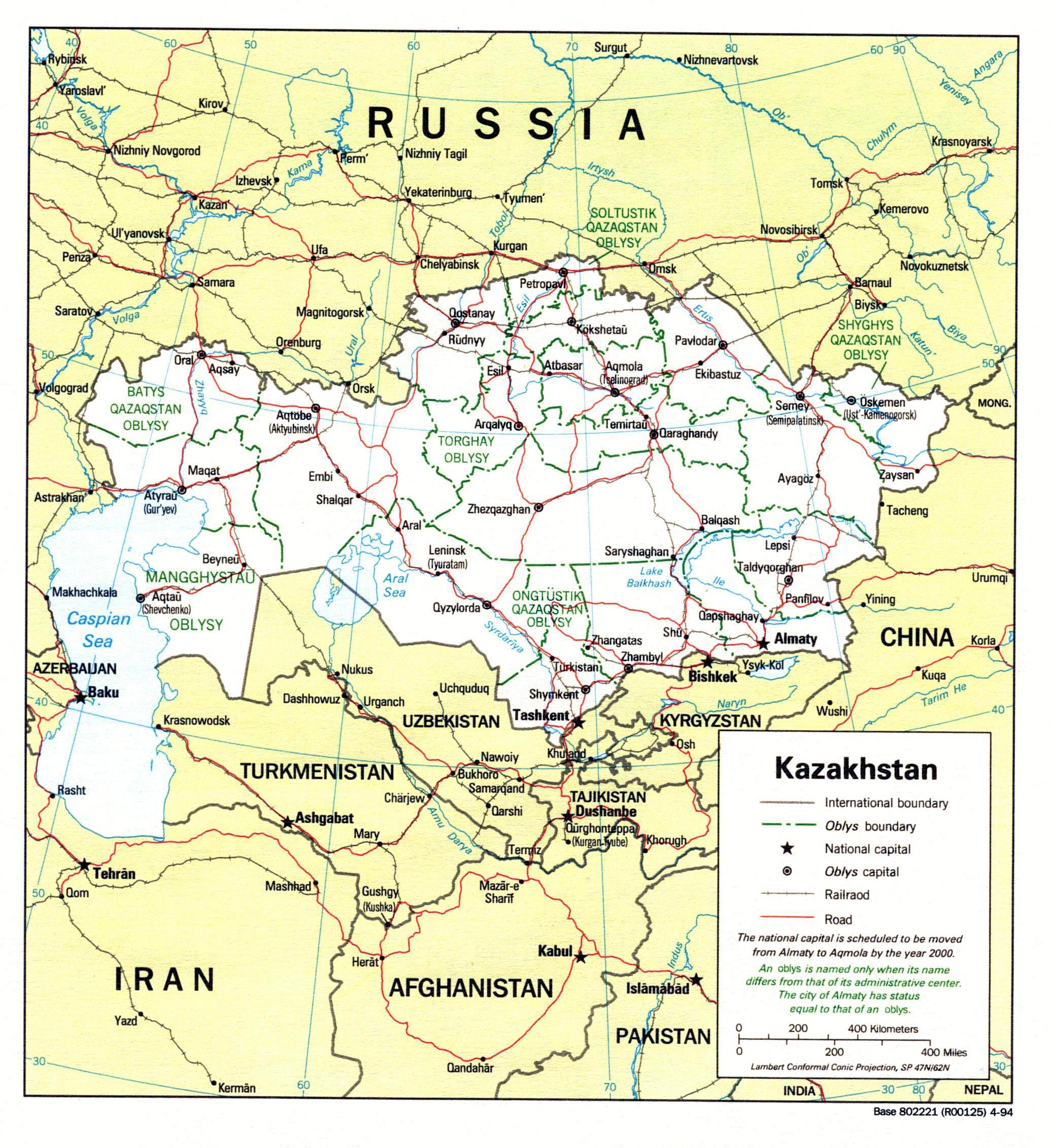 karte kasachstan Karten von Kasachstan | Karten von Kasachstan zum Herunterladen  karte kasachstan