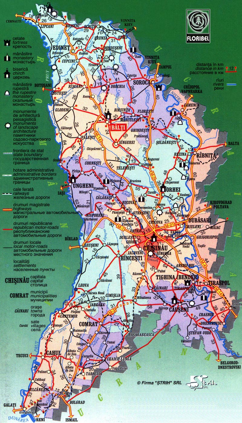 Moldova Maps Printable Maps Of Moldova For Download - Moldova map